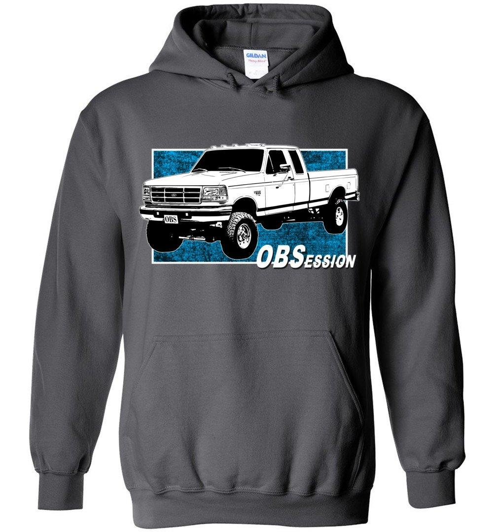 Ford OBS Extended Cab 4X4 Hoodie | Ford OBS Sweatshirt | Aggressive Thread Diesel Truck Apparel