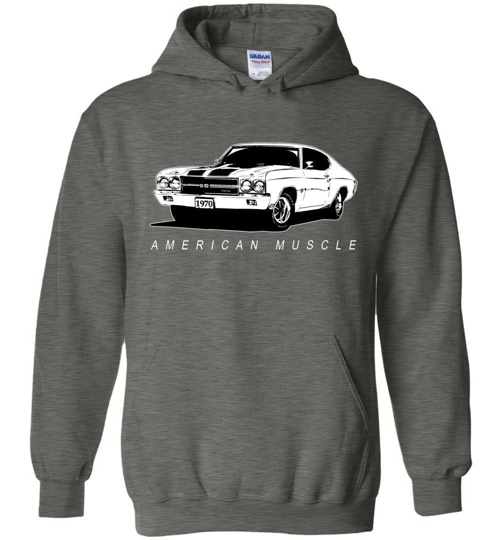1970 Chevrolet Chevelle T-Shirt | Aggressive Thread Muscle Car Apparel