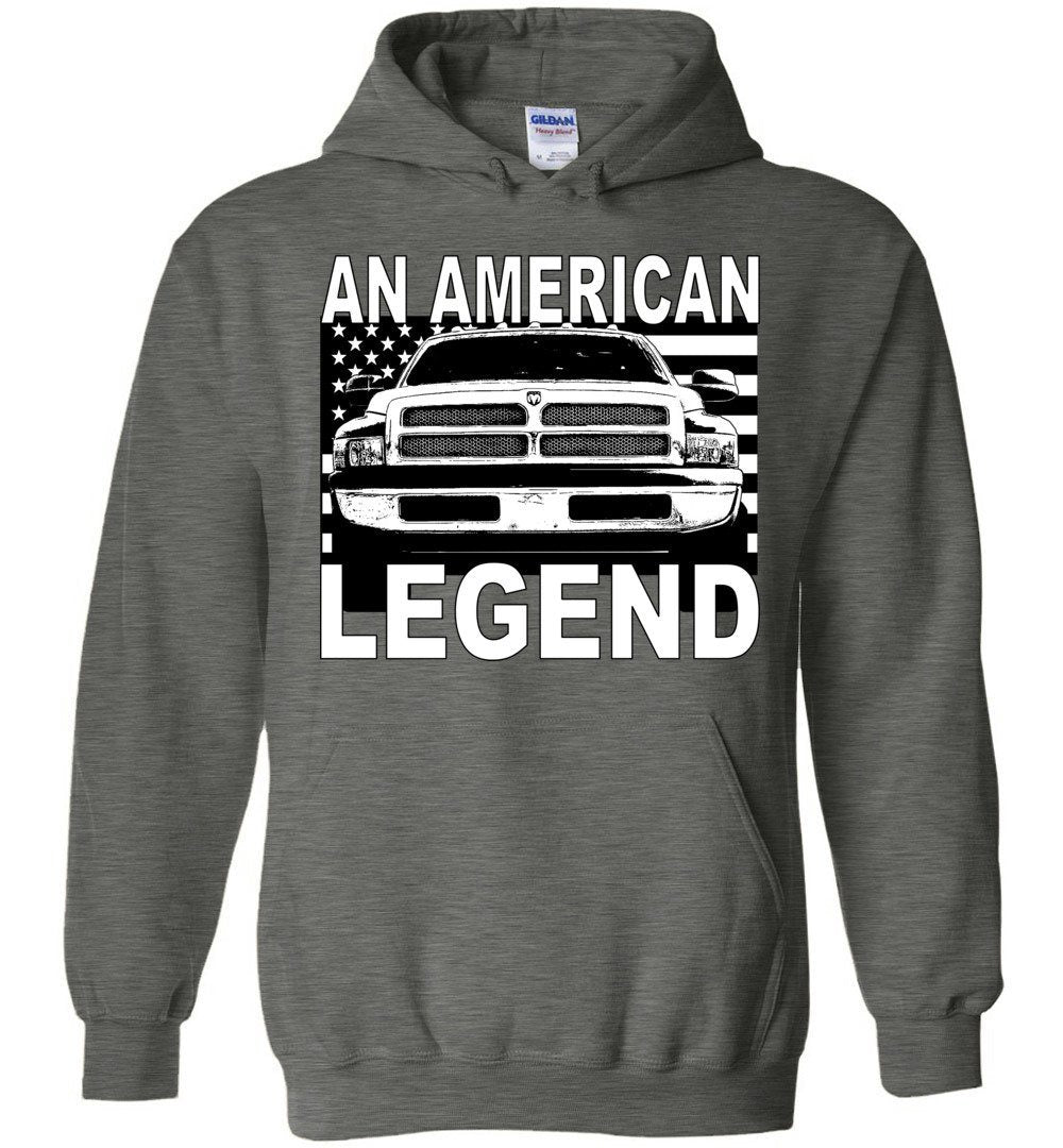 2nd Gen Dodge Ram Hoodie | Cummins Hoodie | Aggressive Thread Truck Apparel