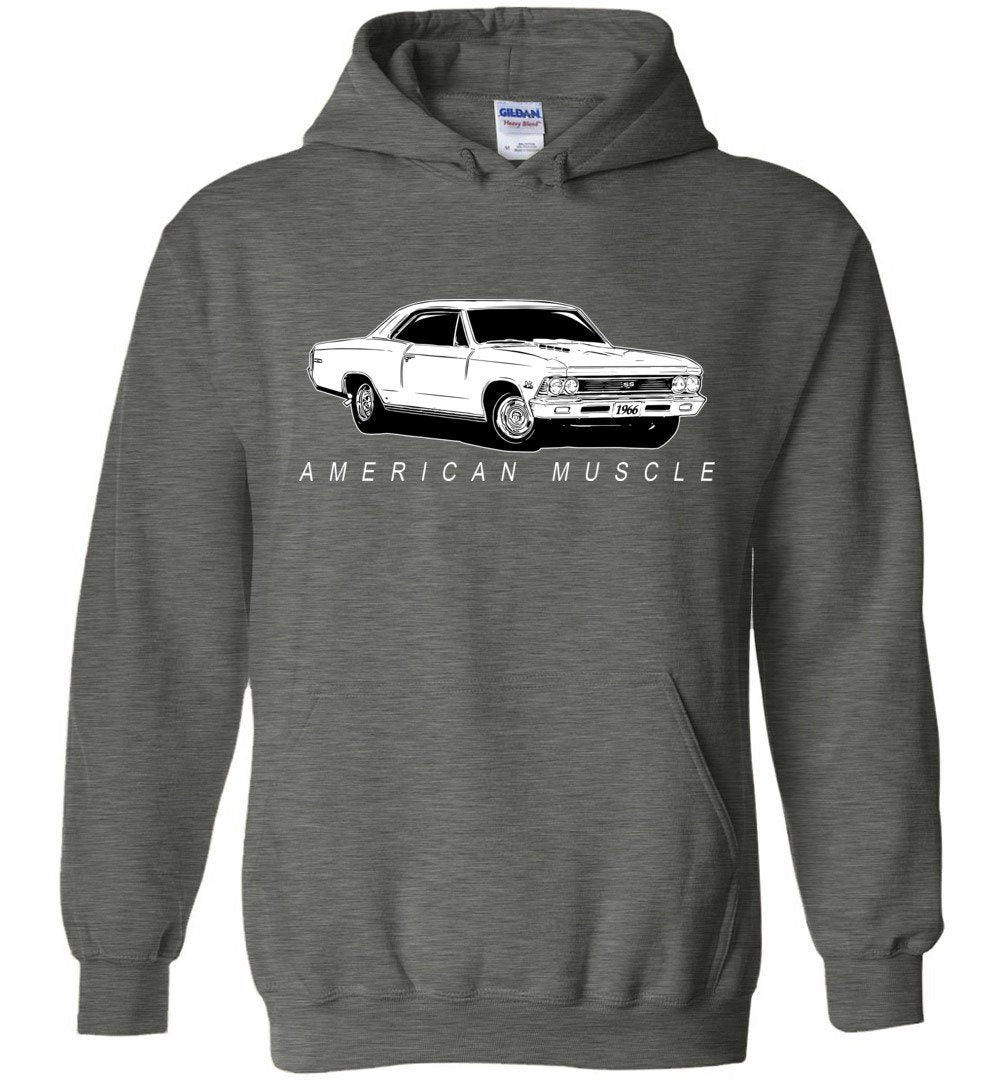 1966 Chevrolet Chevelle Hoodie | Aggressive Thread Muscle Car Apparel