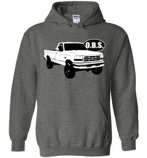 Ford OBS Single Cab Hoodie | Ford OBS Sweatshirt | Aggressive Thread Diesel Truck Apparel