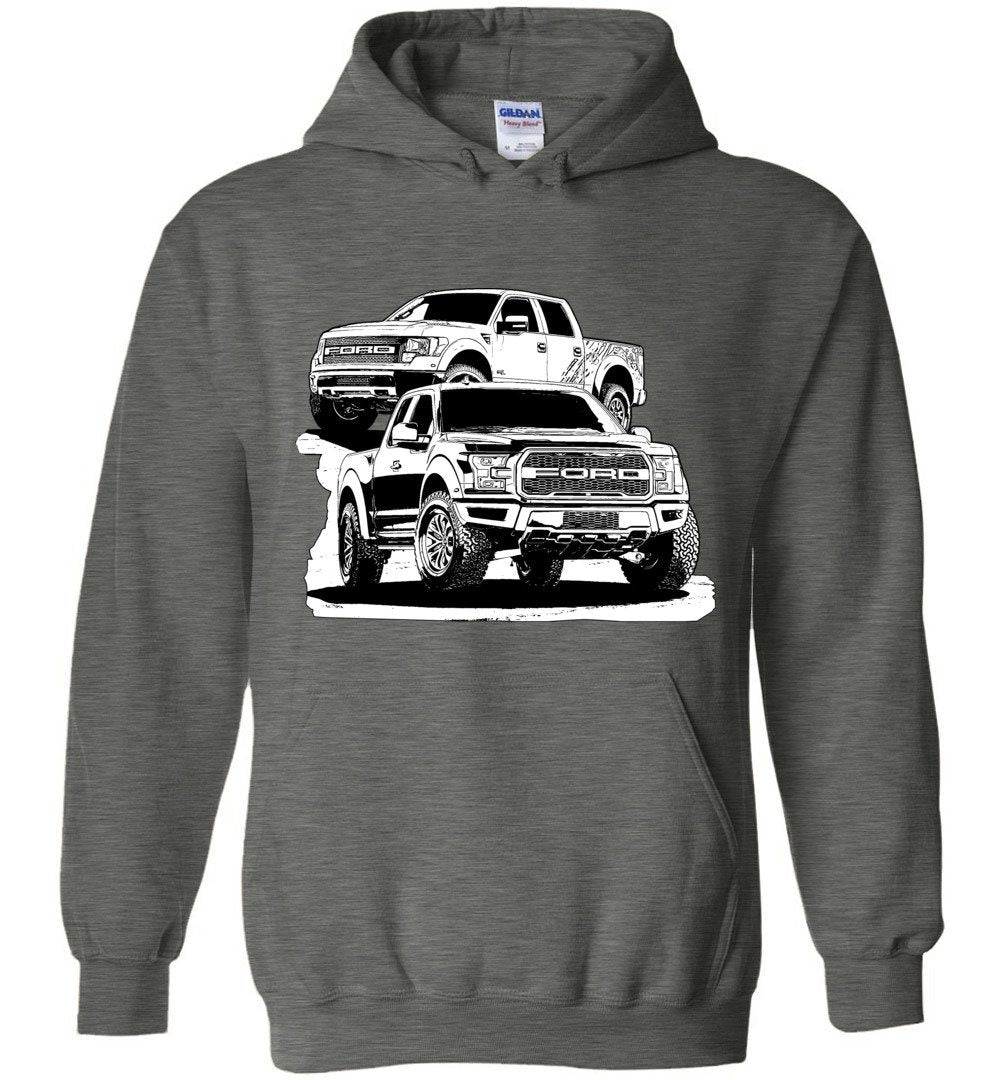 Ford Raptor Sweatshirt Hoodie | Aggressive Thread Truck Apparel