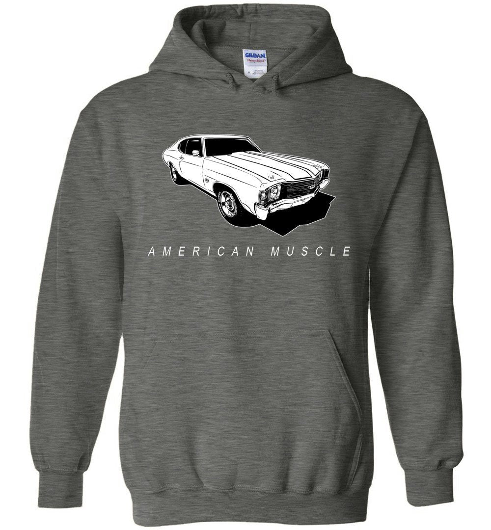 1972 Chevelle American Muscle Hoodie Sweatshirt (🏷️10% OFF - Purchase 2 Or More Items)