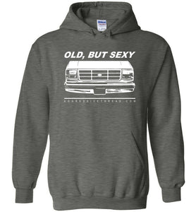Ford OBS Old But Sexy Hoodie Sweatshirt - Aggressive Thread Diesel Truck T-Shirts