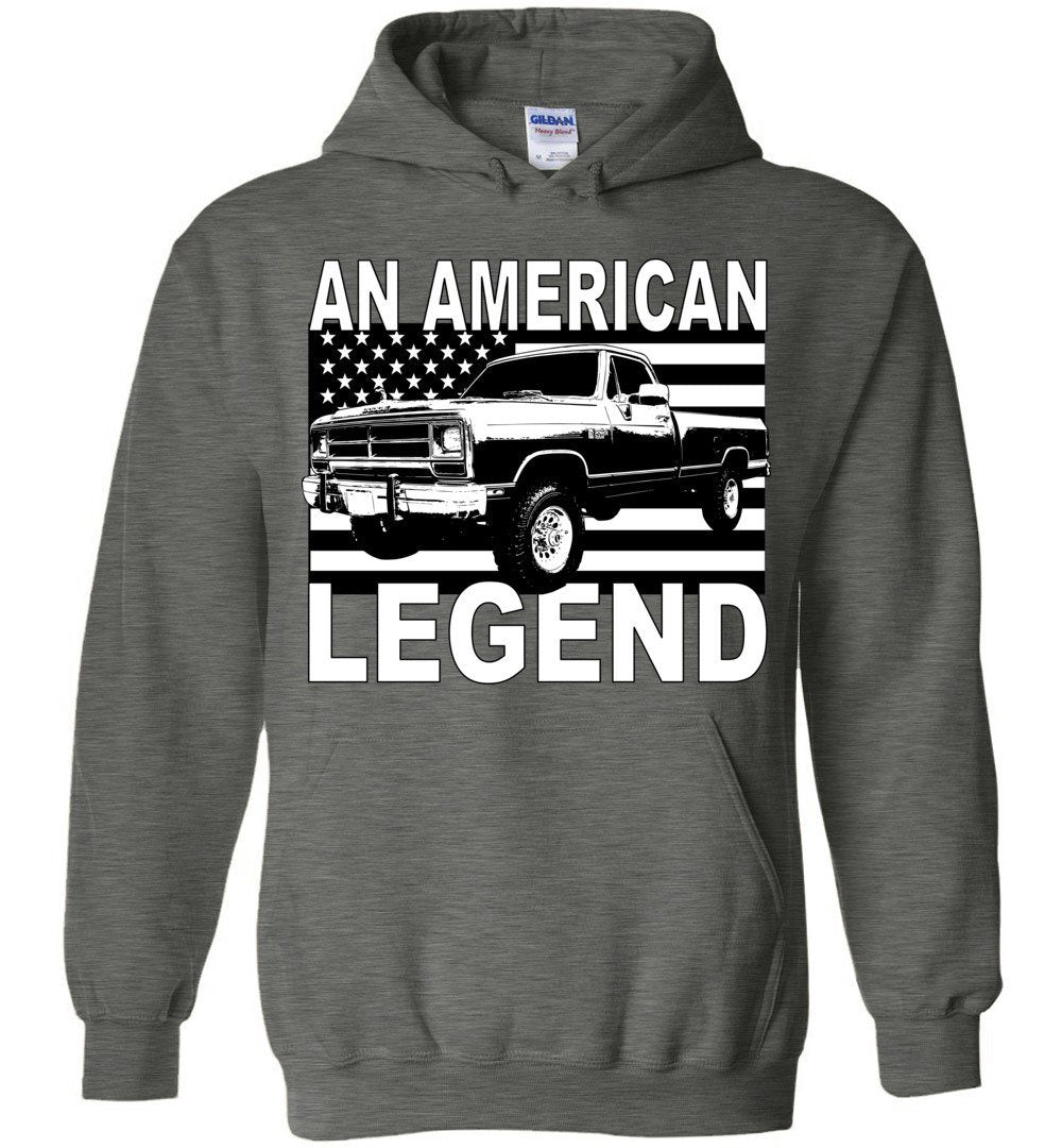 First Gen Dodge Ram An American Legend Hoodie Sweatshirt