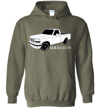 Ford OBS Single Cab F150 Sweatshirt | Ford OBS Hoodie | Aggressive Thread Truck Apparel