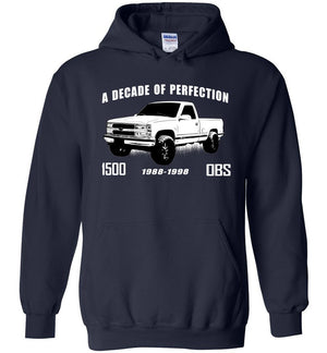OBS Chevy 1500 Hoodie | Chevy Truck Sweatshirt | Aggressive Thread Truck Apparel