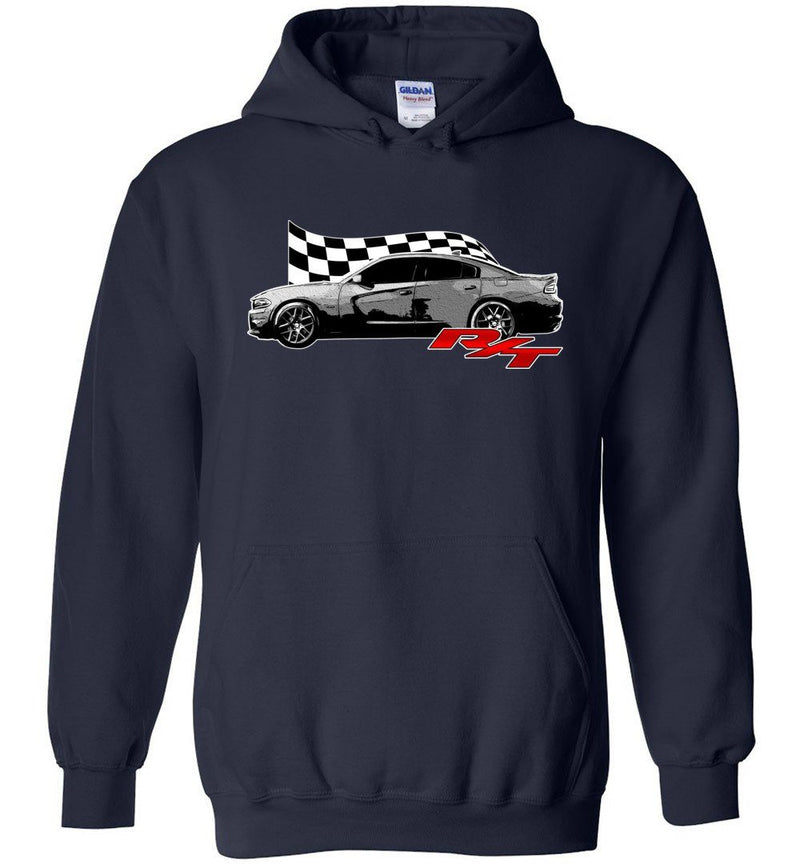 15-19 Charger R/T Hoodie | Aggressive Thread Muscle Car Apparel