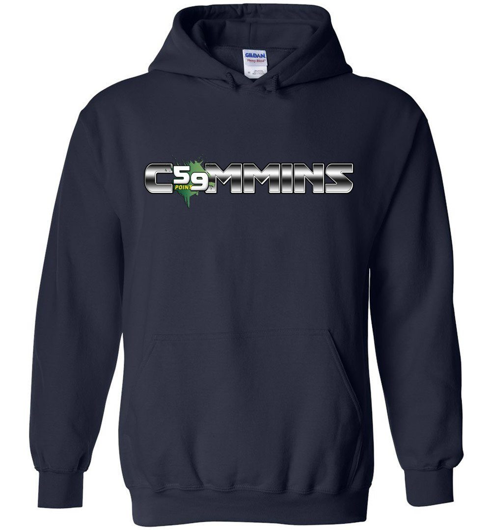 Cummins Hoodie Sweatshirt | 12 Valve Cummins Apparel | first gen cummins | 2nd gen cummins | Aggressive Thread Diesel Truck Apparel