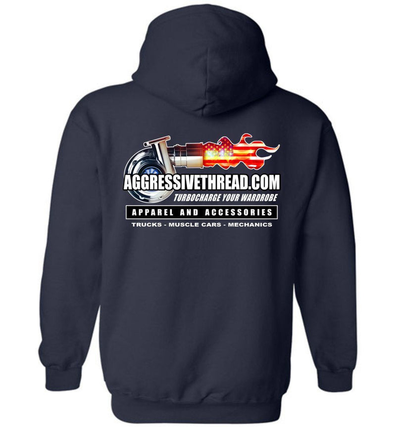 Aggressive Thread 2019 Promo Wear Hoodie