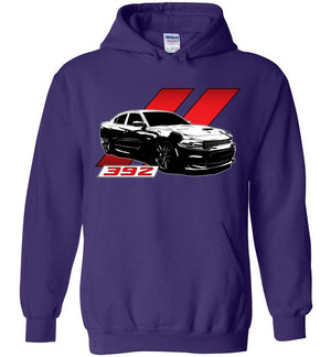 Dodge Charger 392 Hoodie | Mopar T-shirt | Hemi 6.4 | Aggressive Thread Muscle Car Apparel