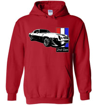 Second Gen Camaro Hoodie | Camaro Sweatshirt | Aggressive Thread Muscle Car Apparel