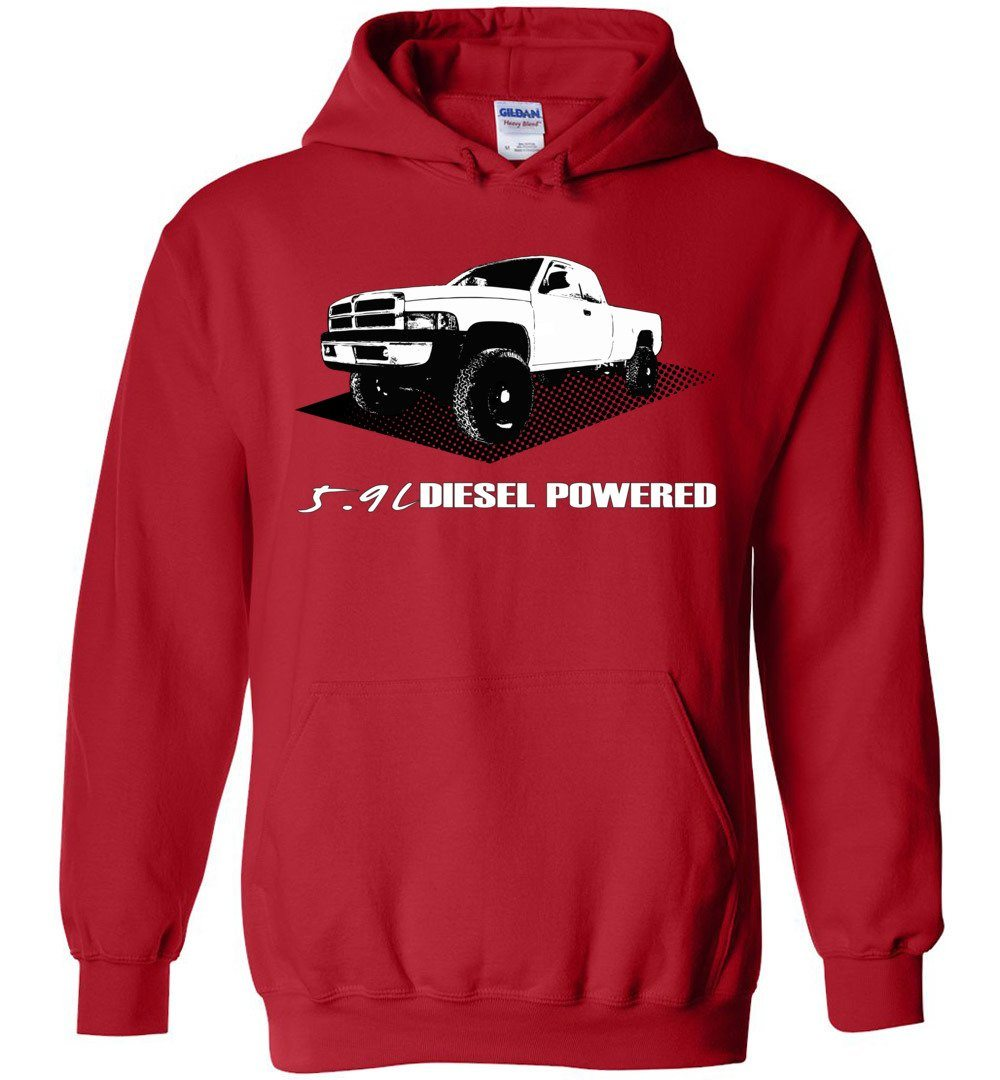 2nd Gen Cummins Diesel Truck Hoodie | Aggressive Thread Truck Apparel