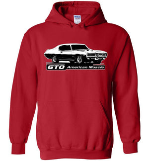 1969 GTO Hoodie Sweatshirt | Aggressive Thread Muscle Car Apparel