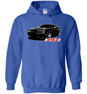 Dodge Challenger Shirt | Dodge SRT 392 T-Shirt | Mopar Apparel | Aggressive Thread Muscle Car Apparel