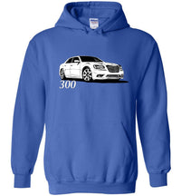 2011-2014 Chrysler 300 SRT8 Hoodie | Mopar sweatshirt | Hemi 5.7 | Aggressive Thread Muscle Car Apparel