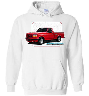First Gen Ford F150 Lightning Truck Hoodie - Aggressive Thread Truck Apparel