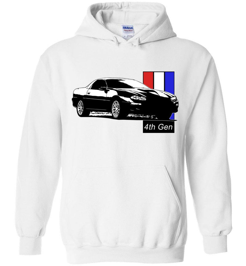 4th Gen Camaro SS Hoodie | Camaro Sweatshirt | Aggressive Thread Muscle Car Apparel