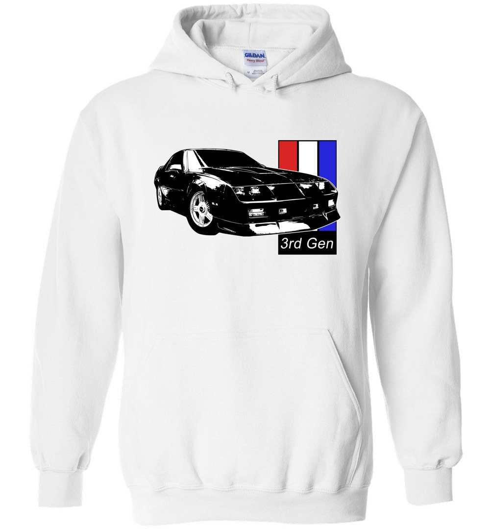 3rd Gen Camaro Hoodie |  Aggressive Thread Muscle Car Apparel
