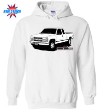 OBS Chevy Truck Hoodie Shirt | Chevy Logo | Aggressive Thread Truck Apparel
