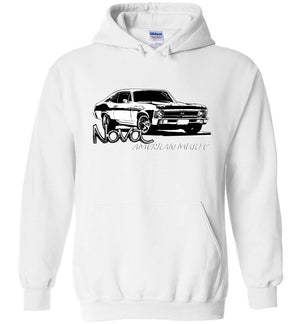Chevrolet Nova SS Hoodie | 1968-1972 Chevy Nova | Aggressive Thread Muscle Car Apparel