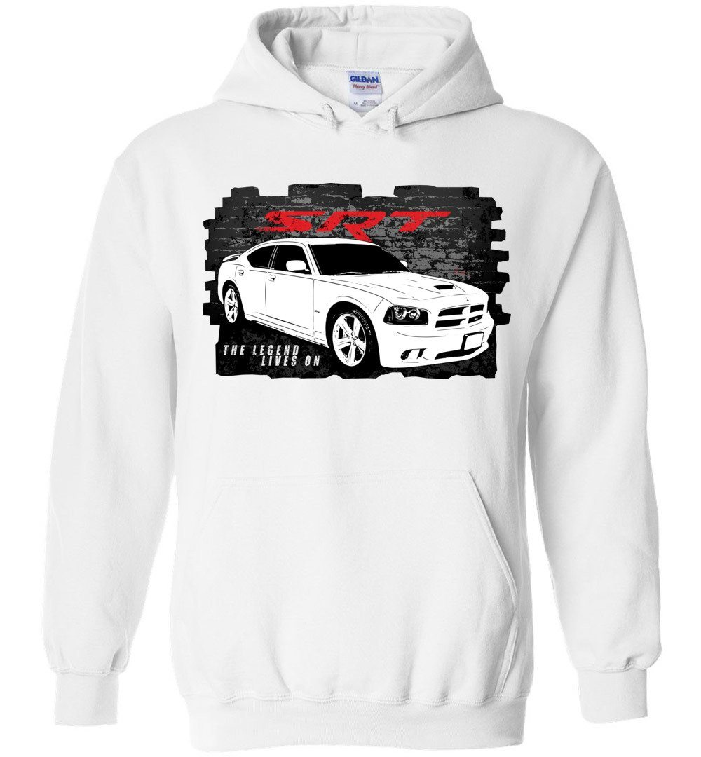 2006-2010 Dodge Charger SRT8 Hoodie Sweatshirt | Aggressive Thread Diesel Muscle Car Apparel