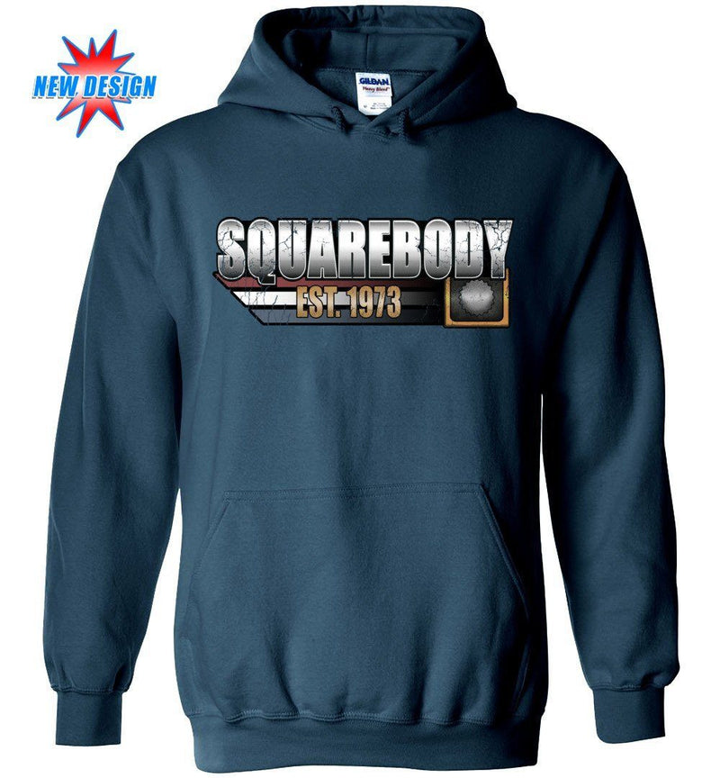 Square Body Chevy Sweatshirt | Squarebody Hoodie | Aggressive Thread Truck Apparel
