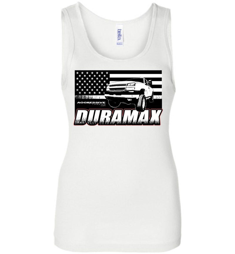 Cat Eye Duramax Womans Tank Top - Aggressive Thread Diesel Truck T-Shirts