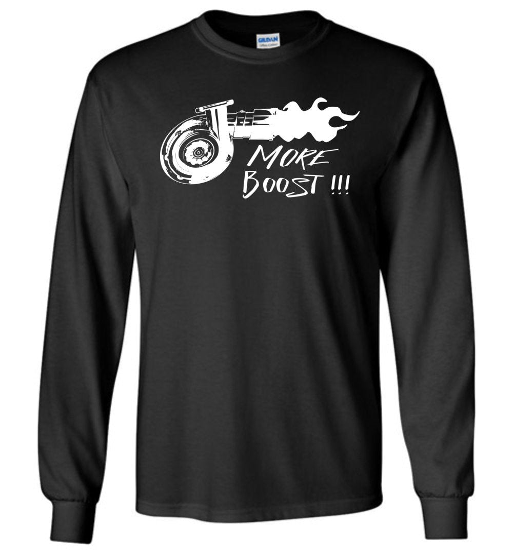 Turbo T-Shirt - More Boost!! - Long Sleeve