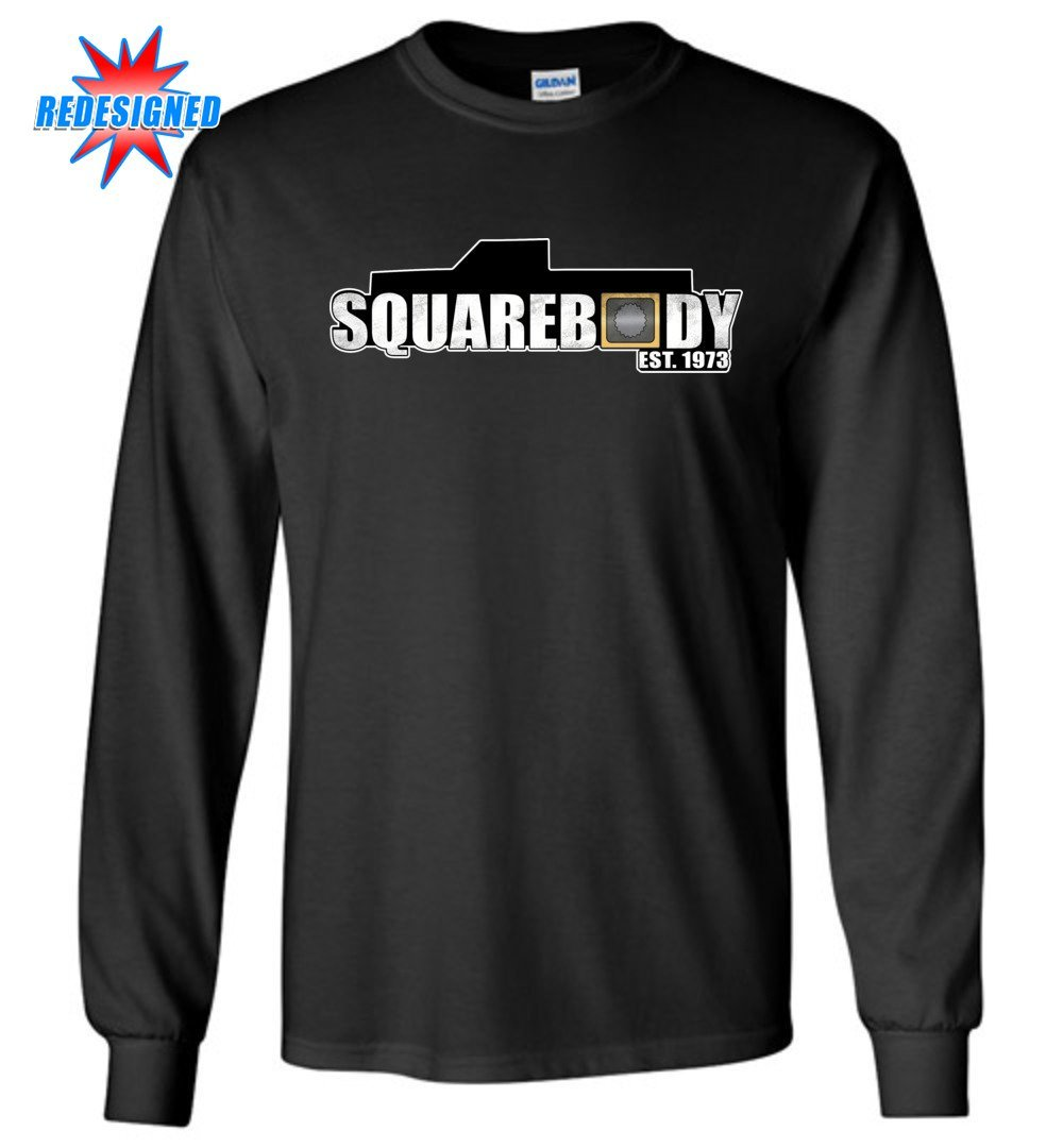 Squarebody Square Body Est 1973 Long Sleeve T-Shirt