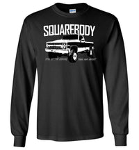 Squarebody Chevy Long Sleeve T-Shirt - Aggressive Thread Diesel Truck T-Shirts