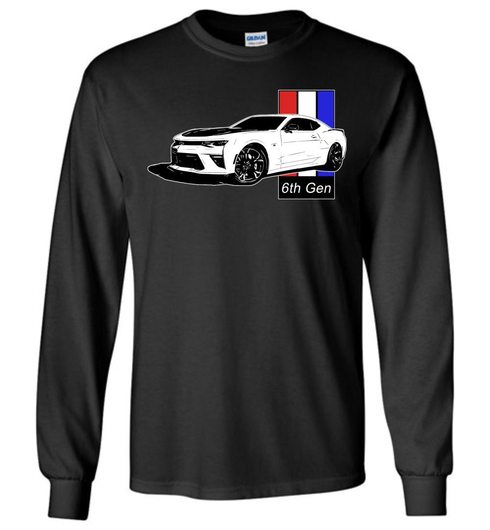 Camaro T-Shirt | 6th gen Camaro | Aggressive Thread Muscle Car Apparel