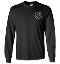 Thin Blue Line Police Long Sleeve T-Shirt