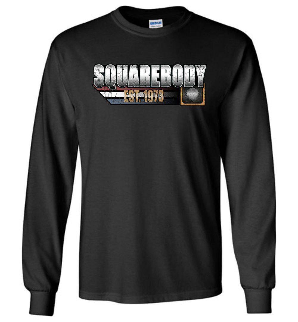 Square Body Chevy T-Shirt | Squarebody Shirt | Aggressive Thread Truck Apparel
