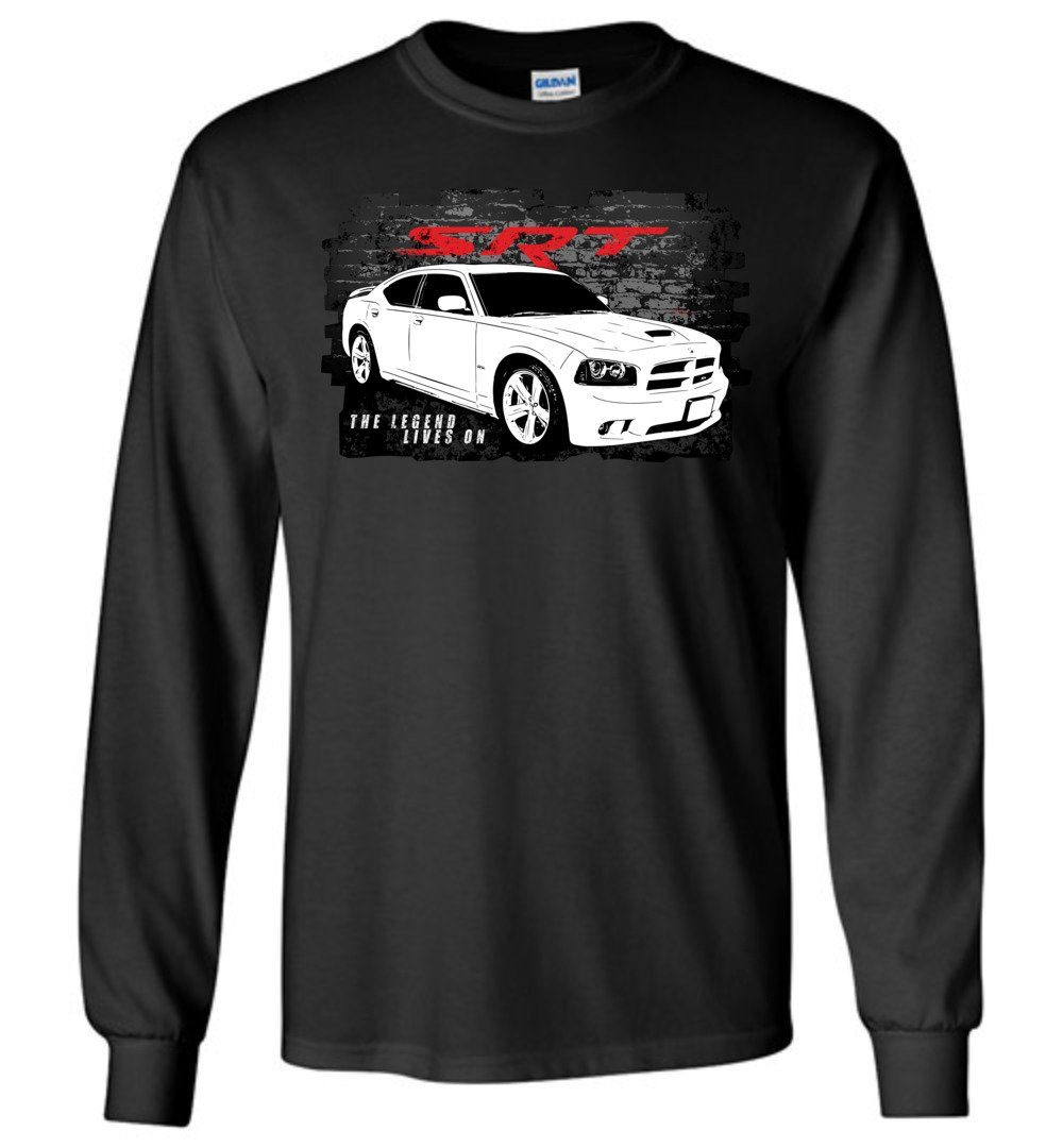 2006-2010 Dodge Charger SRT8 Long Sleeve T-Shirt