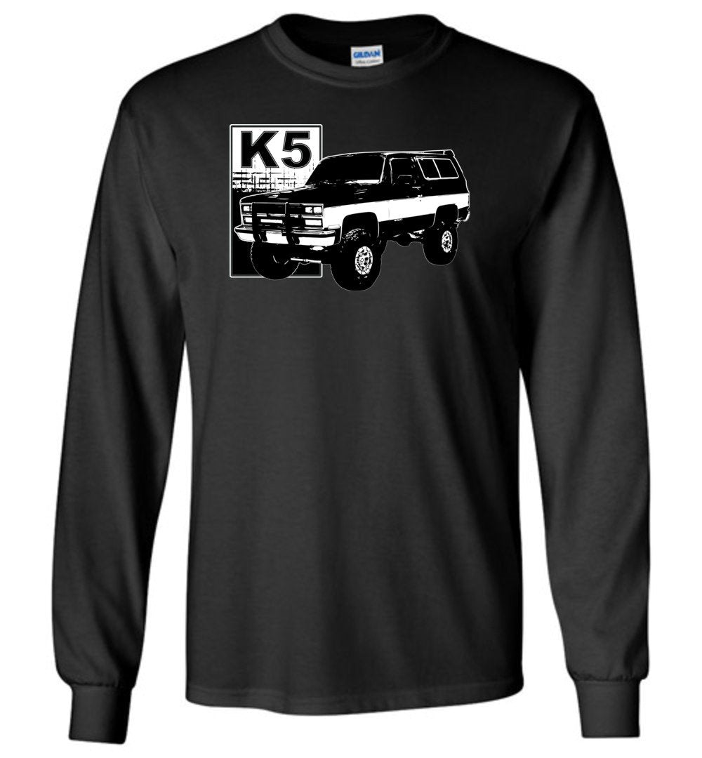 K5 Blazer Square Body Chevy T-Shirt | Squarebody Shirt | Aggressive Thread Diesel Truck Apparel