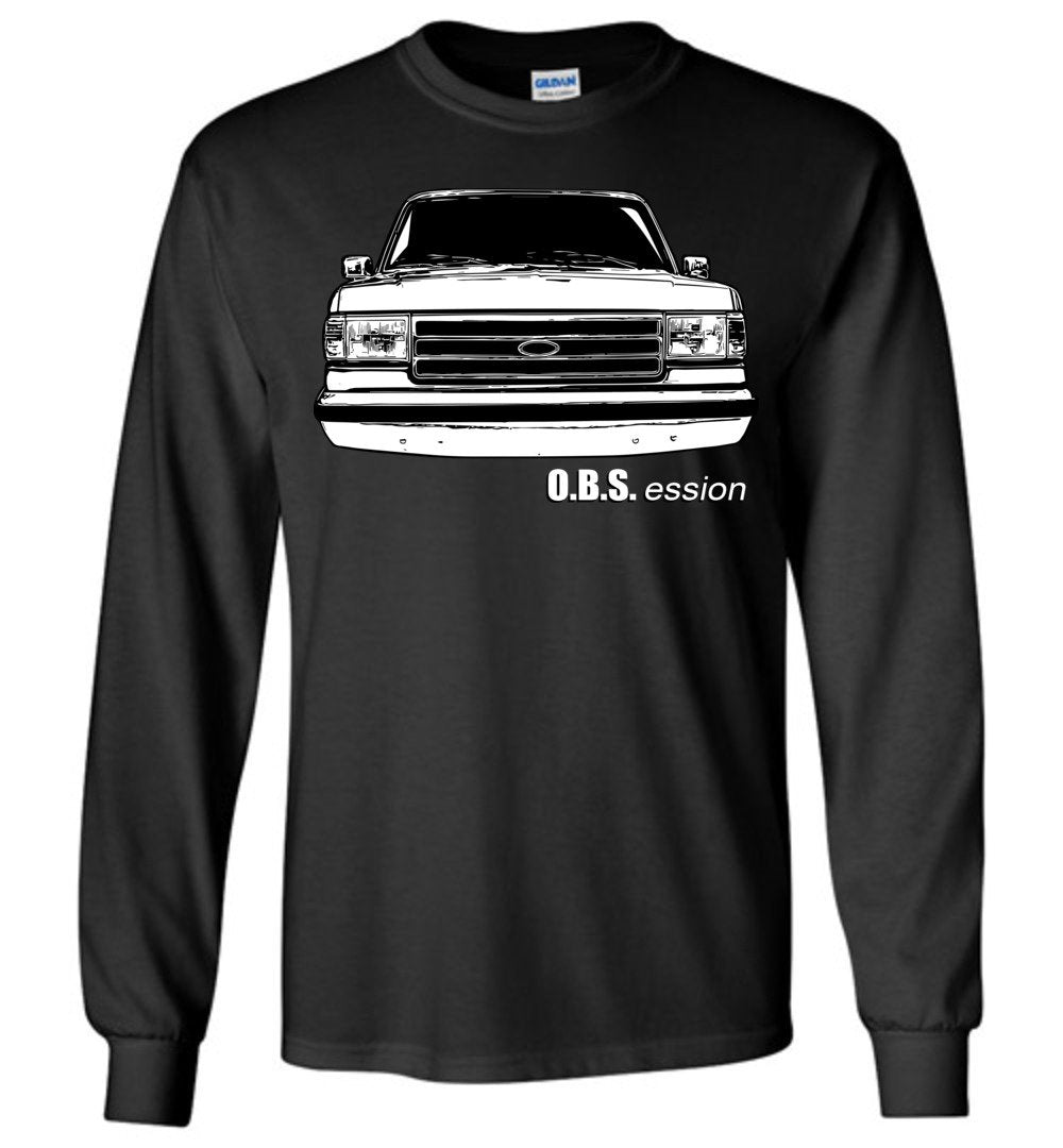 Ford OBS Shirt | 90s Ford Truck | Brick Nose Ford | Aggressive Thread Truck Apparel