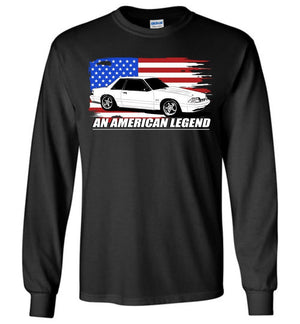 Long Sleeve T-Shirt for 88-93 Mustang GT Notchback 5.0 Enthusiast