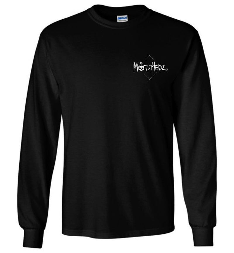 "MotrHedz - Boating Long Sleeve T-Shirt ""I'd Rather Be Nauti"""