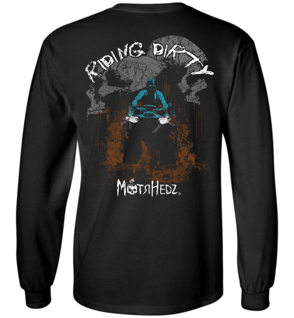 MotrHedz - ATV Rider Long Sleeve T-Shirt