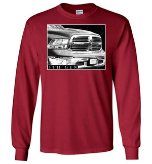 Ram Truck | 4th Gen Ram Truck | 09-19 Ram Truck | Long Sleeve Shirt | Aggressive Thread Truck Apparel