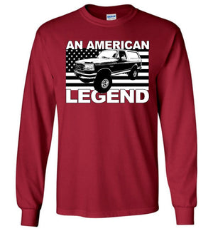 1988-1997 Ford Bronco Long Sleeve T-Shirt From Aggressive Thread