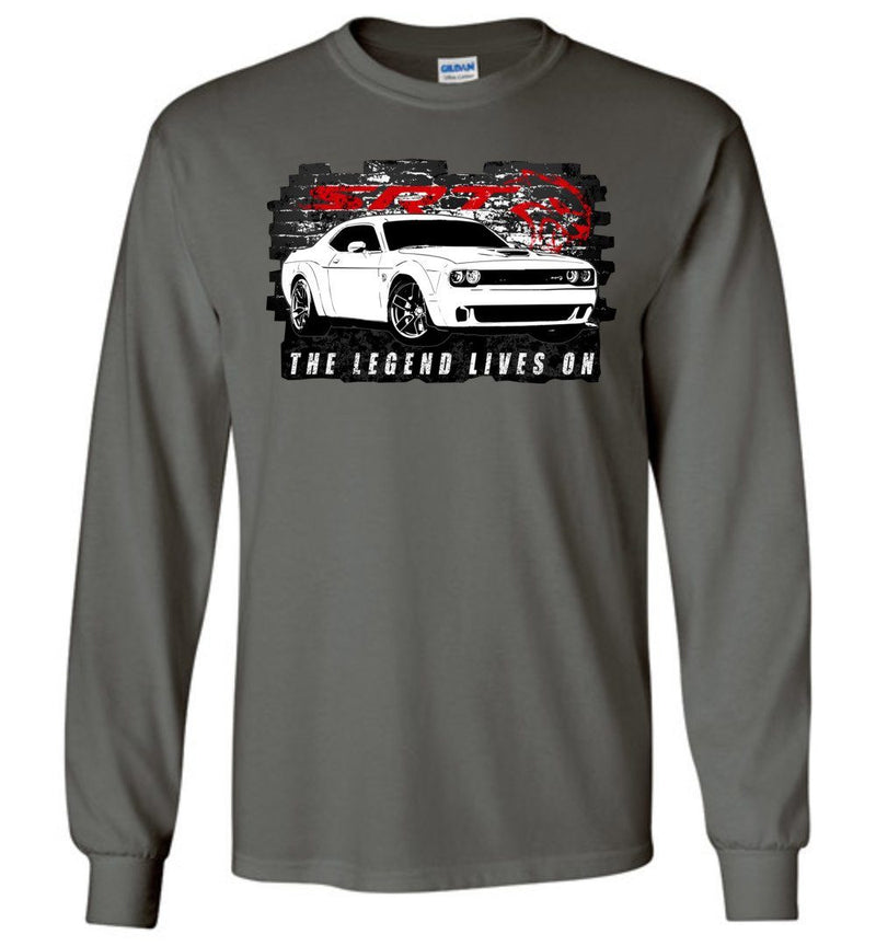 Dodge Challenger Demon Long Sleeve T-Shirt