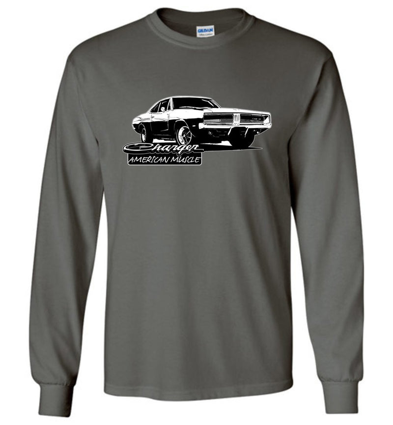 1969 Dodge Charger T-Shirt | Aggressive Thread Muscle Car Apparel