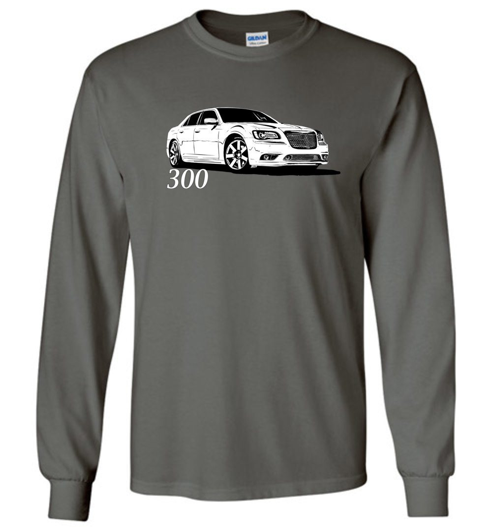 2011- Up Chrysler 300 T-Shirt - Long Sleeve