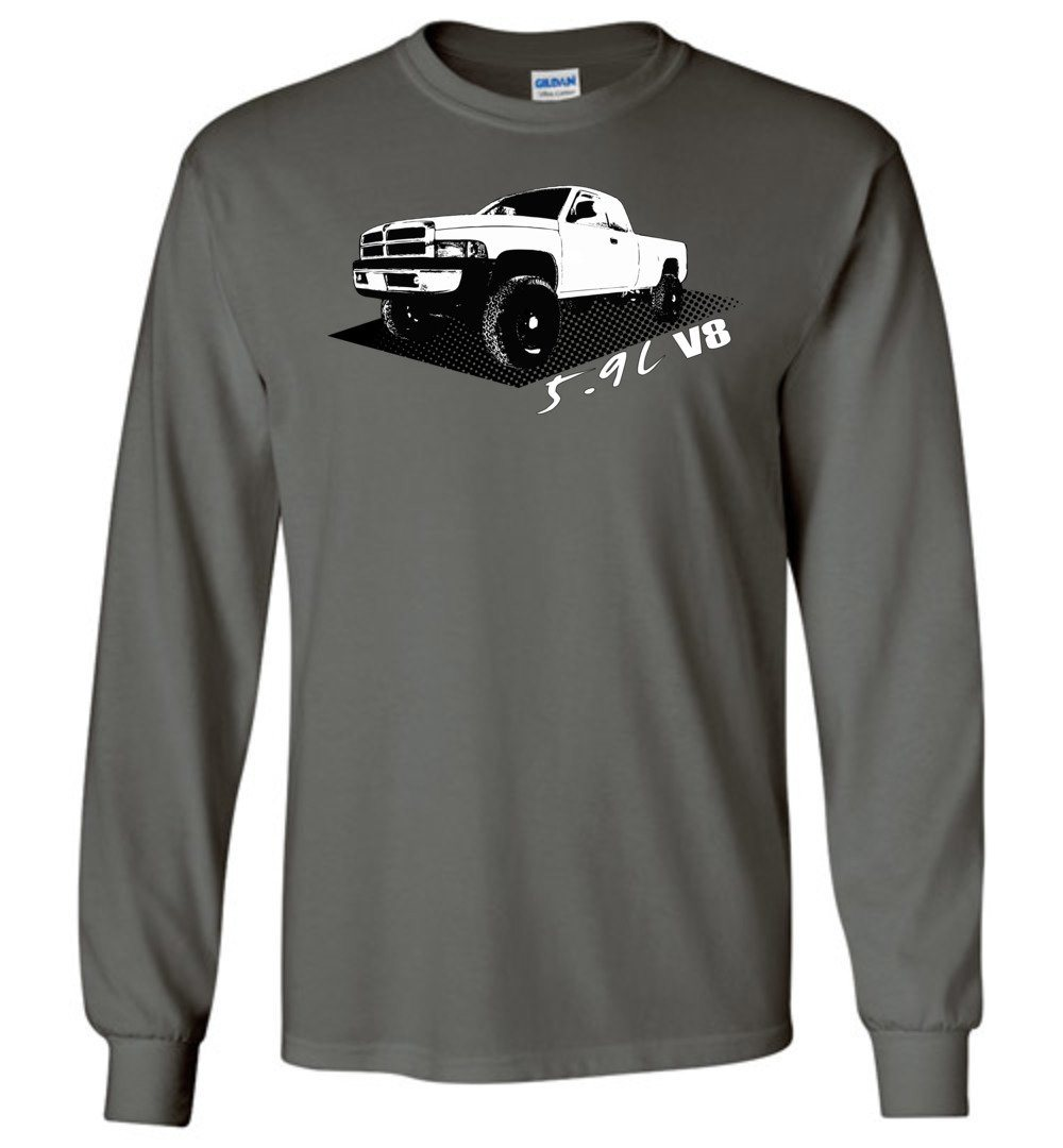 2nd Gen Second Gen 5.9 Liter V8 Long Sleeve T-Shirt