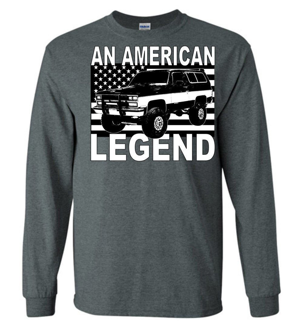 K5 Blazer An American Legend Squarebody Long Sleeve T-Shirt
