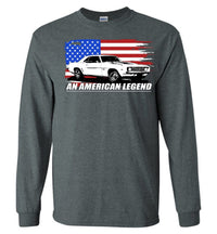 1969 Camaro An American Legend Long Sleeve T-Shirt