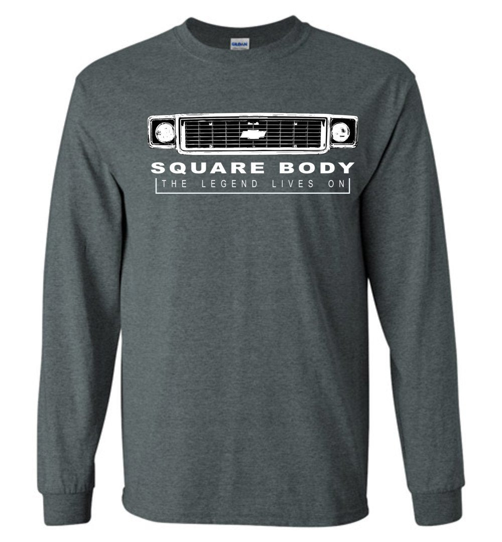 70's Squarebody Chevy Grille T-Shirt Square Body Shirt