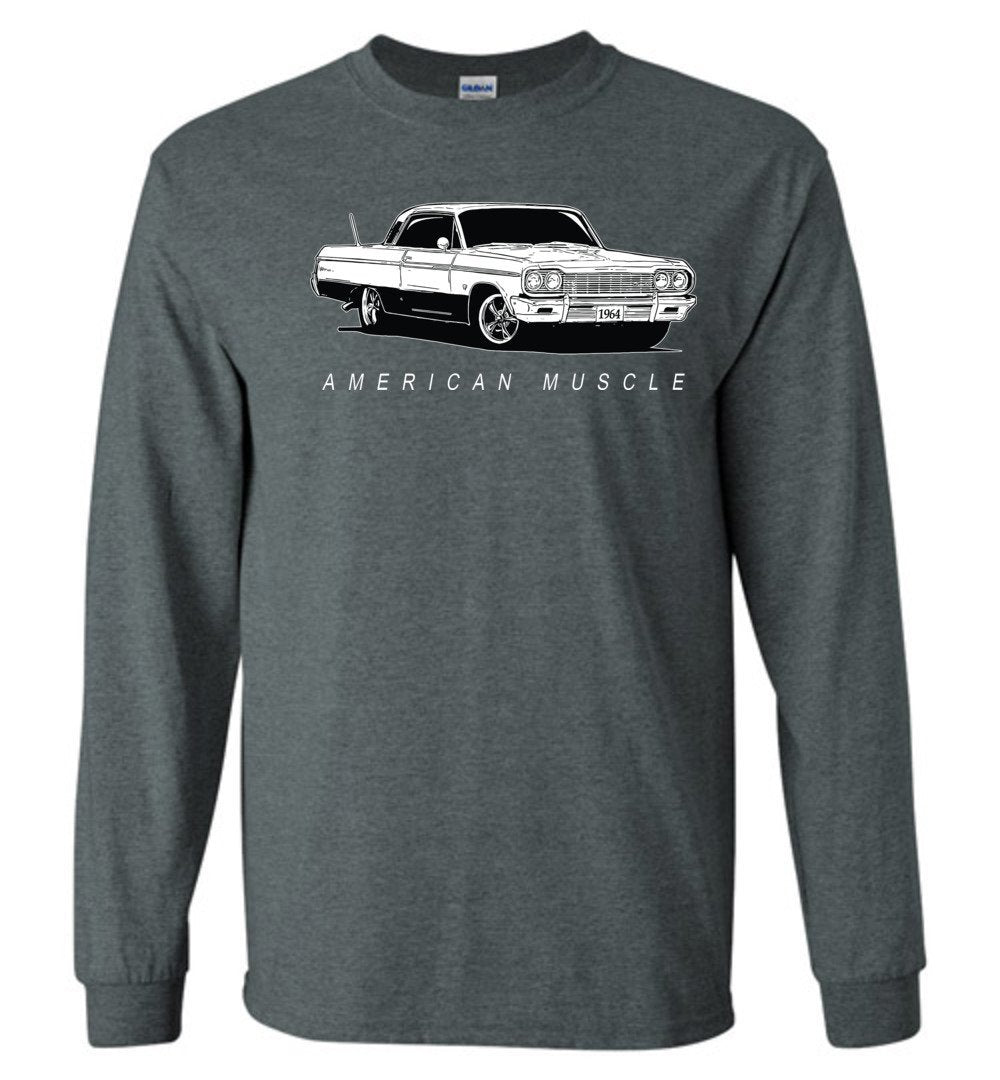 1964 Chevrolet Impala T-Shirt | Aggressive Thread Muscle Car Apparel